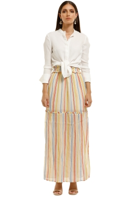 Suboo - Playhouse Maxi Skirt - Multi - Front