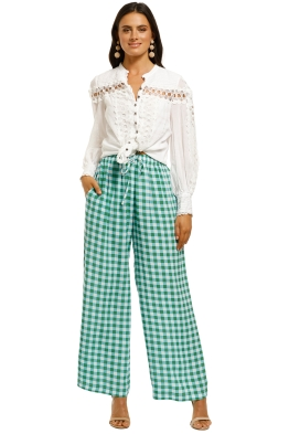 SWF-Drawstring-Pant-Gingham-Mint-Front