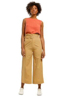 SWF-Nougat-High-Waisted-Pant-Tan-Front