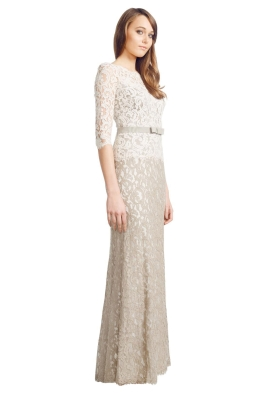George - Arianne Gown - Back - Grey