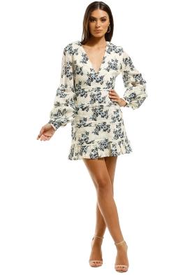Talulah-Blue-Belle-Mini-Dress-Floral-Front