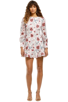 Talulah-Bonita-LS-Mini-Dress-Casablanca-Print-Front