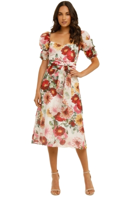 Talulah-Garland-Midi-Dress-Amelie-Floral-Print-Front