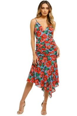 Talulah-Luscious-Midi-Dress-Luna-Red-Print-Front