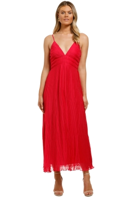 Talulah-Raspberry-Sorbet-Midi-Dress-Front