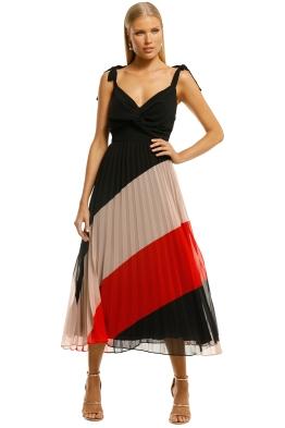 Talulah-Speechless-Midi-Dress-Dusk-Stripe-Front