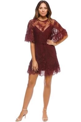 Talulah - Blind Love Mini Dress - Henna - Front