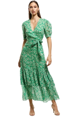 Talulah - Green With Envy Midi Dress - Green - Front