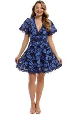 Talulah - Infatuation Mini Dress - Navy - Front