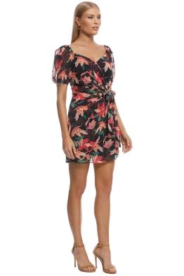 78f21123e2a Talulah - Night Mirage Mini Dress - Black Floral - Front