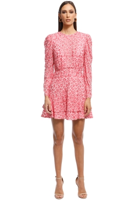 66ea54cf35a0 Talulah - The Blossom LS Mini Dress - Pink - Front