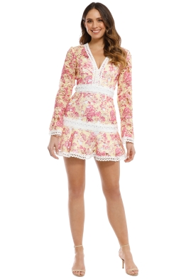 Talulah - Vienna Mini Dress - Wallpaper Floral - Front