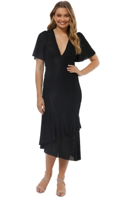 Talulah - Immediacy Midi Dress - Black - Front
