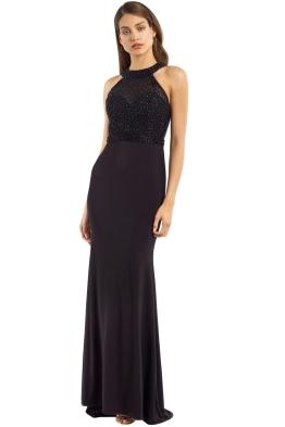 Tania Olsen - Tyra Gown - Black - Front
