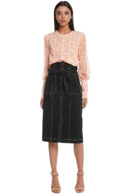 The East Order - Junee Midi Skirt - Front
