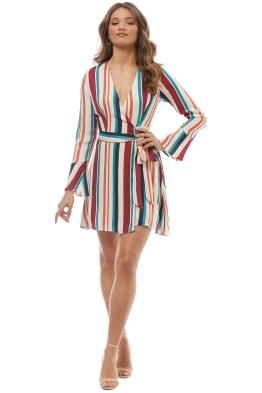 The Jetset Diaries - Virgo Mini Dress - Multi - Front
