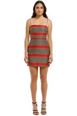 Third-Form-Parallels-Mini-Dress-Rossa-Stripe-Front