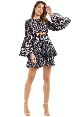 Thurley - Tudor Dress - Black - Front