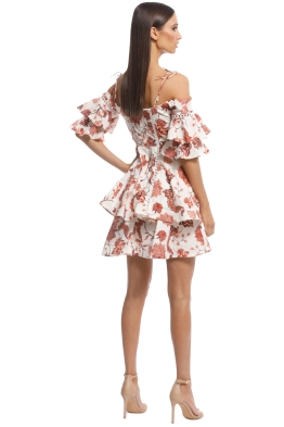 ac42b3636a6b Thurley - Valencia Dress - Russet Multi - Front Side