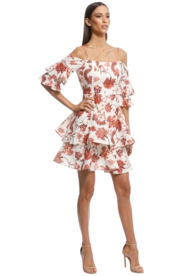 Thurley - Valencia Dress - Russet Multi - Front