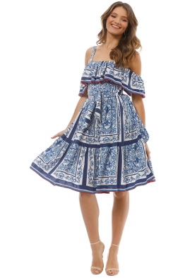 Trelise Cooper - That Swing You Do Dress - Blue - Front