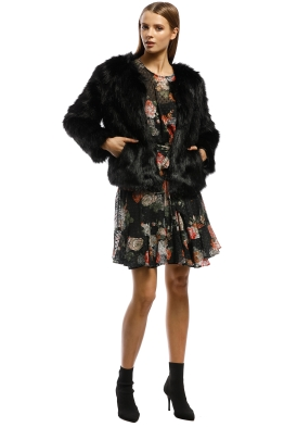 04a720c6 Unreal Faux Fur Jackets for Rent Australia | GlamCorner