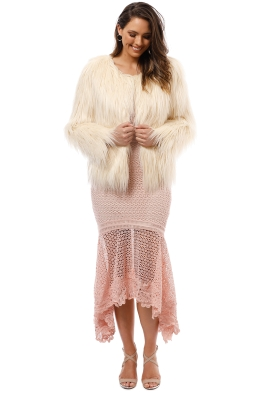 Unreal Fur - Unreal Dream Jacket - Ivory - Front