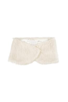 Unreal Fur - Violette Stole - Ivory - Front