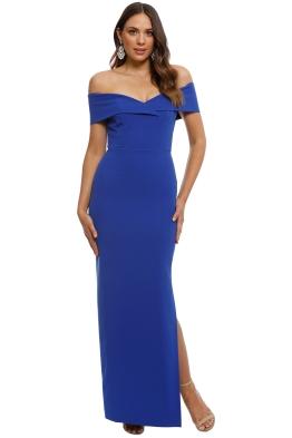 Unspoken - Alexa Dress - Cobalt - Front