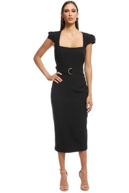 Unspoken - Audrey Dress - Black - Front