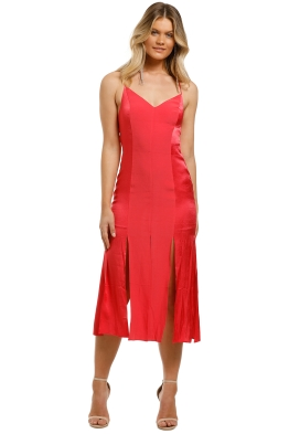 Vestire-Be-Good-to-Me-Midi-Dress-Hibiscus-Front