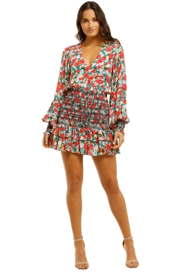 Vestire-Little-Havana-LS-Mini-Dress-Floral-Print-Front