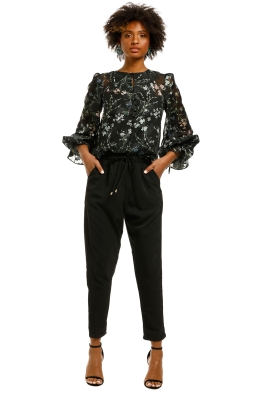 We-Are-Kindred-Ambrosia-Blouse-Black-Blooms-Front