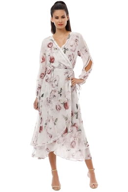 ae962ecbd6f0 We Are Kindred - Jemima Primrose Dress - White Rose - Front