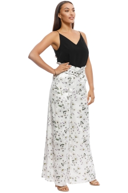 We are Kindred - Palazzo Pant - White Bouquet - Front 04a2bc9fa
