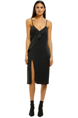 Wish-Infinity-Midi-Dress-Black-Front