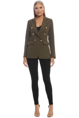 Wish - Expectations Blazer - Khaki - Front
