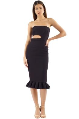 Yeojin Bae - Kaitlin Dress - Black -  Front