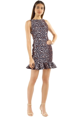 Yeojin Bae - Leopard Sara Dress - Front
