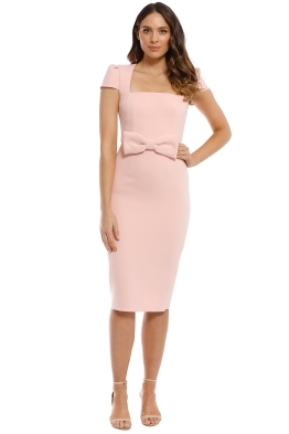 Yeojin Bae - Meg Dress - Pink - Front