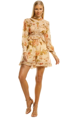 Zimmermann-Resistance-Lace-Panel-Playsuit-Autumn-Rose-Front