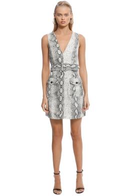98a4fdfe465 Zimmermann - Corsage Safari Dress - Print - Front