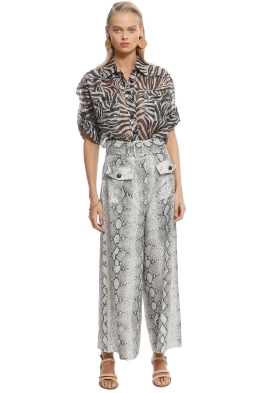 Zimmermann - Corsage Safari Shirt - Front