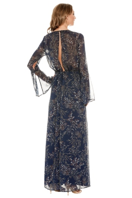 The Jetset Diaries - Mediterranean Maxi Dress - Front