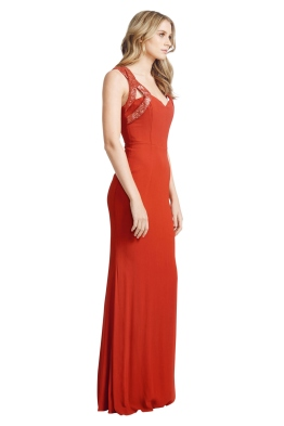 Alex perry red formal dress