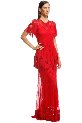 d18f3d57b38 Alice McCall - Lady In Red Gown - Red - Front