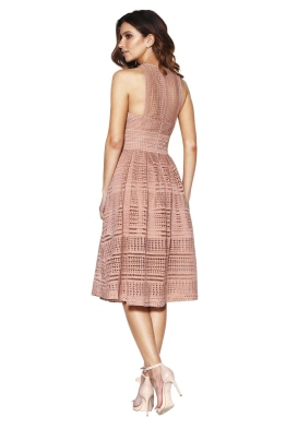 Grace & Hart - Allure Floaty Dress - Blush - Front
