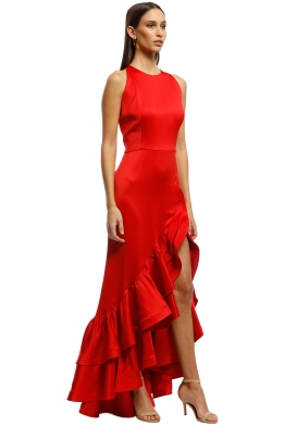 1ff3227d9cc Bronx and Banco - Frida Flame Dress - Red - Front