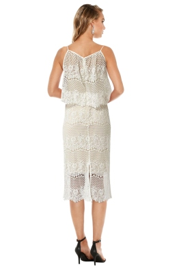Langhem - Holly Lace Cocktail Dress - Front