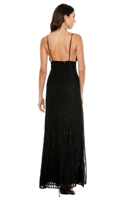 The Jetset Diaries - Notte Maxi Dress - Front